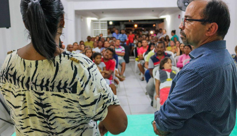 Demolição de Casas Populares é tema de Sessão Popular da Câmara no bairro de Felipe Camarão