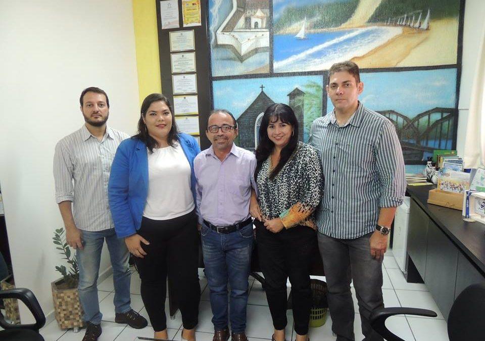 Mandato recebe visita de representantes da DEPREMA